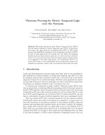Theorem Proving for Metric Temporal Logic over the Naturals