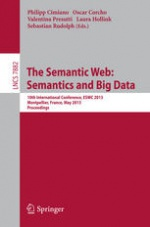 The Semantic Web: Semantics and Big Data, 10th International Conference, ESWC 2013, Montpellier, France, May 26-30, 2013. Proceedings