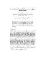 Towards Practical Uniform Interpolation and Forgetting for ALC TBoxes