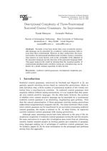 Descriptional Complexity of Three-Nonterminal Scattered Context Grammars: An Improvemen