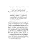 Reasoning in ALC with Fuzzy Concrete Domains