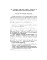 The Combined Approach to Query Answering in Horn-ALCHOIQ (Extended Abstract)