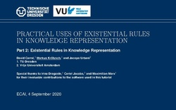 Slides for Part 2: Existential Rules in Knowledge Representation