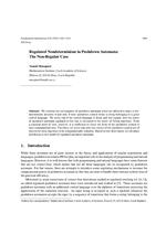 Regulated Nondeterminism in Pushdown Automata: The Non-Regular Case