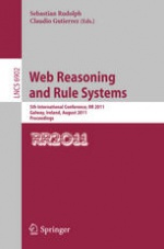 Web Reasoning and Rule Systems - 5th International Conference (RR 2011)