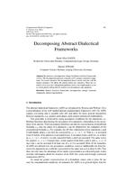 Decomposing Abstract Dialectical Frameworks