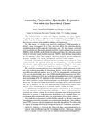 Answering Conjunctive Queries for Expressive DLs with the Restricted Chase: Extended Abstract