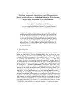 Solving language equations and disequations with applications to disunification in description logics and monadic set constraints