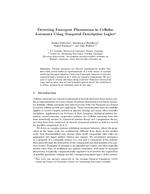Detecting Emergent Phenomena in Cellular Automata Using Temporal Description Logics