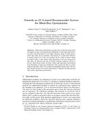 Towards an FCA-based Recommender System for Black-Box Optimization