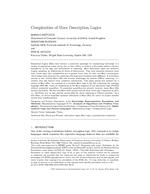Complexities of Horn Description Logics