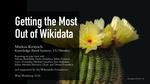 Getting the most out of Wikidata