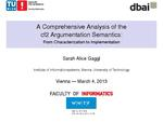 Slides: A Comprehensive Analysis of the cf2 Argumentation Semantics: From Characterization to Implementation