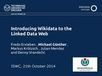 Slides: Introducing Wikidata to the Linked Data Web