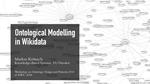 Ontological Modelling in Wikidata