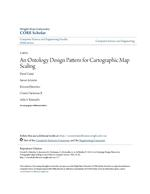 An Ontology Design Pattern for Cartographic Map Scaling
